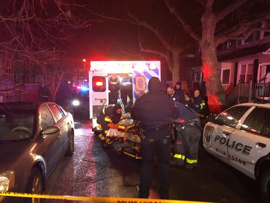 A 34-year-old man who was found shot early Wednesday