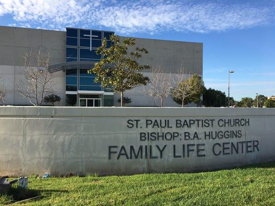 Bishop Broderick Huggins has served at St. Paul Baptist