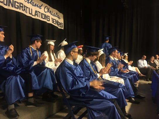Cumberland Christian School's Class of 2017