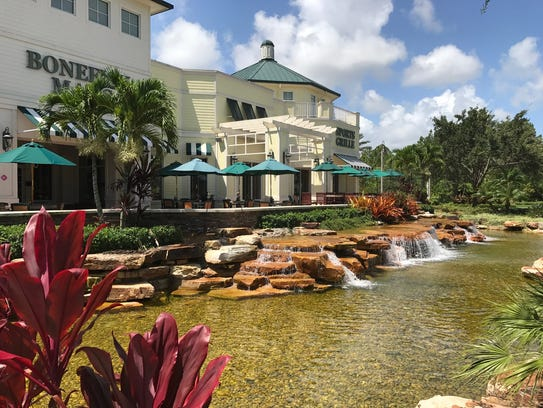 Veranda Falls shopping center along Becker Road in