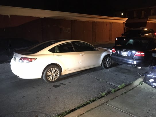 The 14-year-old shot in Edgemoor was in a car with