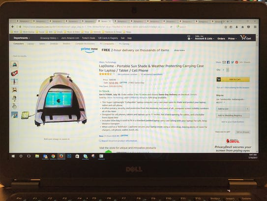 The LapDome is a 2017 Prime Day Deal.