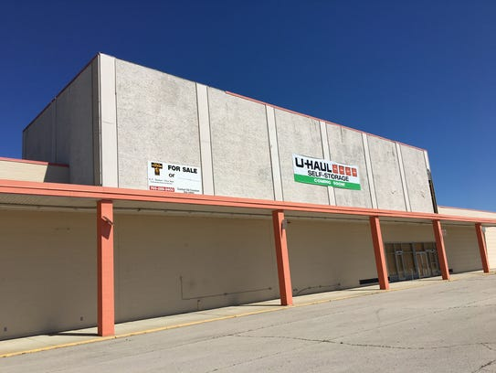 The former Kmart on Muncie's northeast side now has