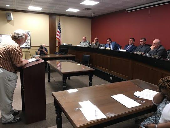 Kurt Schnakenberg urged the Passaic County freeholders