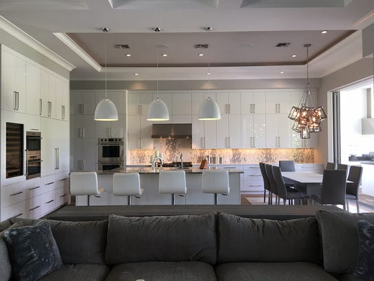 A kitchen remodeled by Clive Daniel Home is entirely
