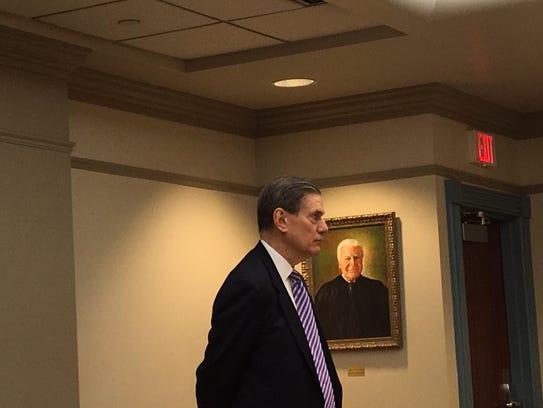 Retired Superior Court Assignment Judge Thomas Weisenbeck