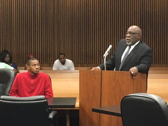 Wayne County circuit court Judge Lawrence Talon prepares