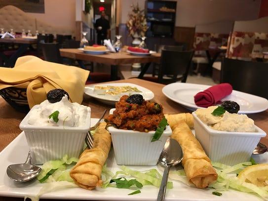 Mezze at Istanbul Cafe