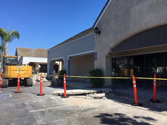 Construction signals new life at this shopping center