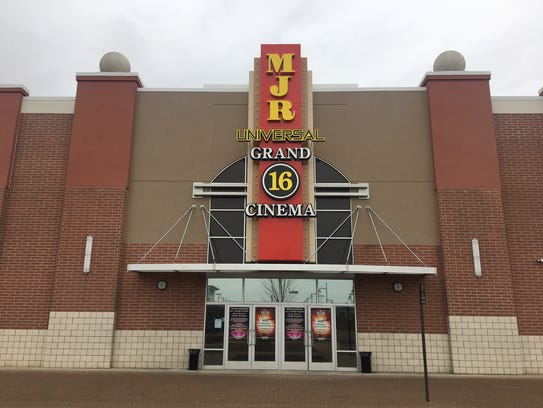 The 16-screen movie complex at Universal Mall in Warren.
