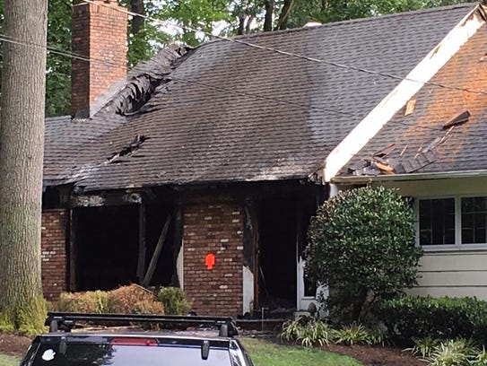 A Westfield house fire was reported in the early morning