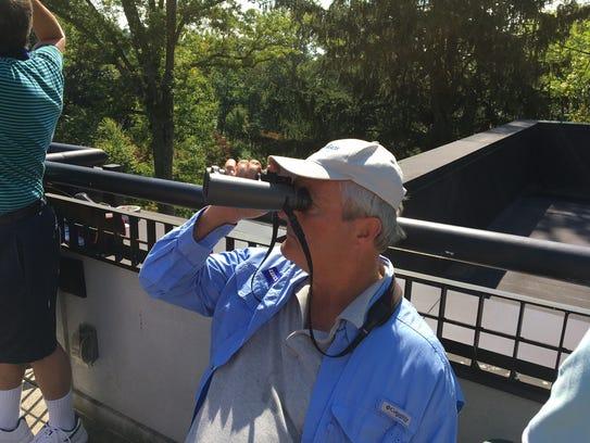 New Jersey Audubon's birding ambassador Pete Dunne,