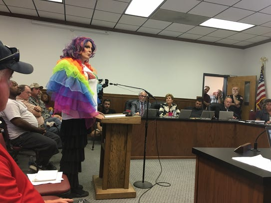 Nicole Grace of Cookeville told Portland officials
