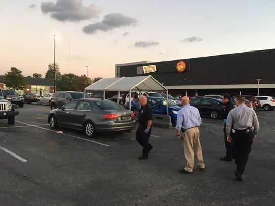 Wilmington Police said a woman was stabbed at the ShopRite