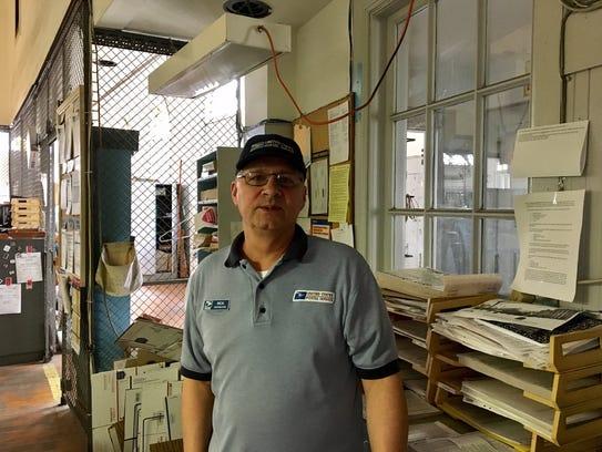 Morristown Post Office Clerk Rick Iannucci