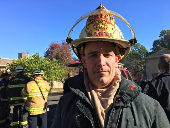 North Plainfield Fire Chief William Eaton