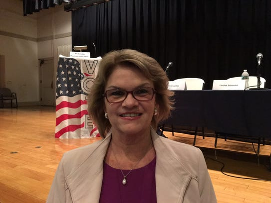 Democratic Morris Township Committee candidate Cathy