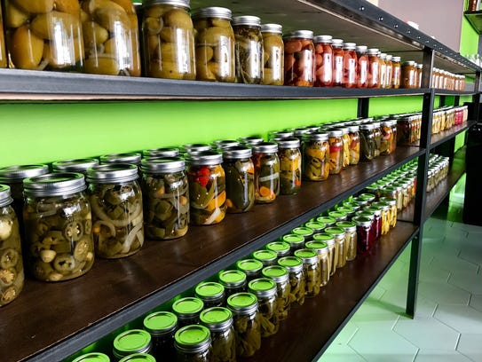 PopoJito, a new Med-Mex taco joint in Scarsdale, also sells its own line of pickled condiments and peppers.