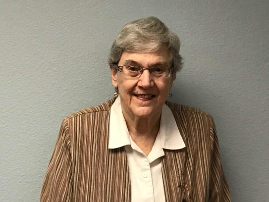 Carla Baehr, a resident at The Palazzo in central Phoenix.