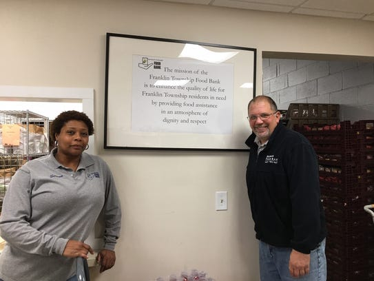 Serena Bennerman, operations manager, and Frank Hasner,