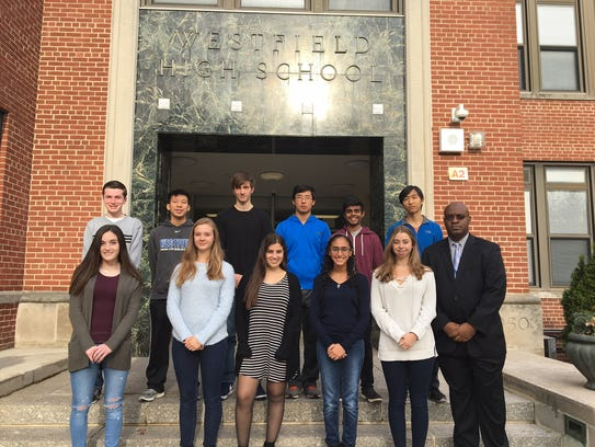 Eleven Westfield High School students achieved the