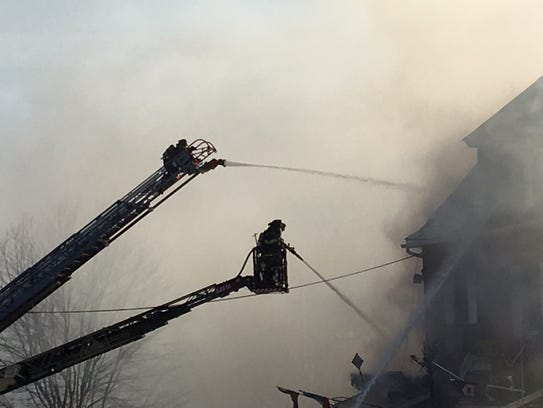 Firefighters tackle blaze at Billy & Madeline's Red