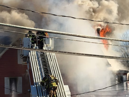 Fire destroyed Billy & Madeline's Red Room Tavern in