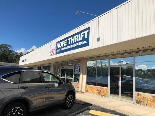 The Hope for North Brevard Thrift Store closed Nov.