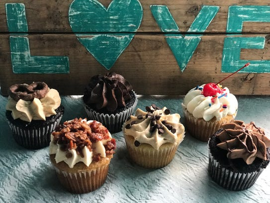 A selection of cupcakes made by Nicole Conklin of Whipped