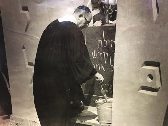In June 1962, then-Rabbi Leonard B. Gewirtz spreads
