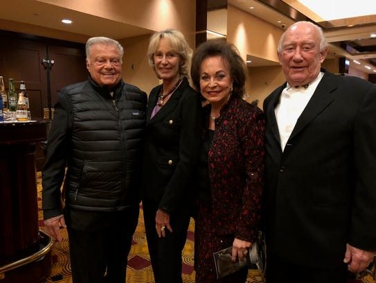 Conductor Club Life Time Members Harold Matzner, Shellie