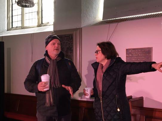 Tony Award-winning director Michael Wilson with Rev.