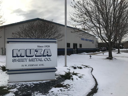 Muza Sheet Metal Co., 51 E. Fernau Ave., celebrates