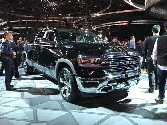 2019 Ram 1500 debuts at the Detroit auto show.