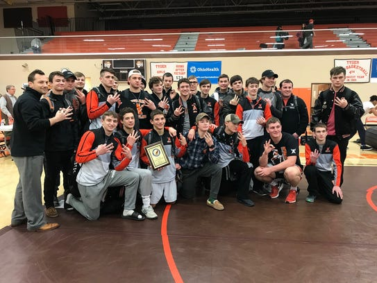 Coach of the Year Sean Seder and his Ashland Arrows