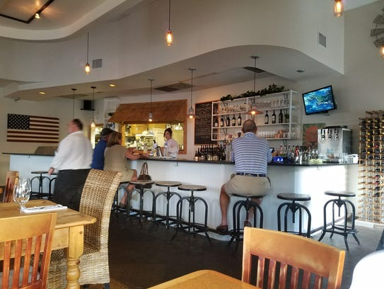 View of the bar at South Fork Kitchen and Bar in Stuart.