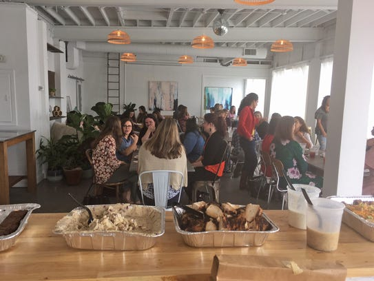 An energetic group enjoyed the recent Lady Bosses of