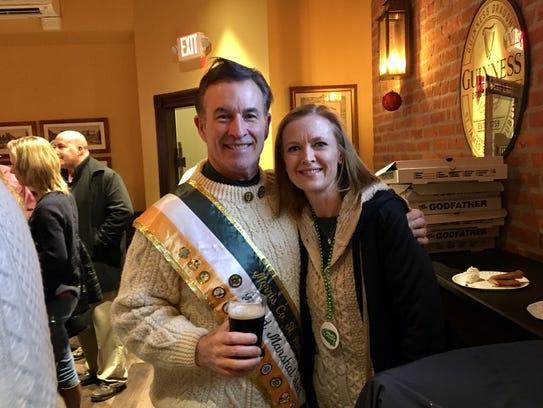 John J. Murphy, 2018 grand marshal of the St. Patrick's