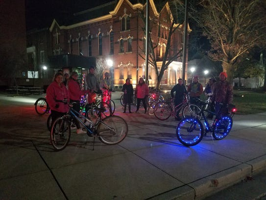 The Salisbury Bike partY brings riders from all over