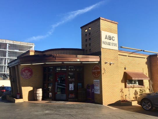 Bouharoun's package store is on a list of historically significant buildings in Greenville.