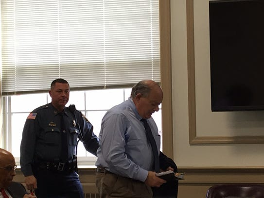 Philip Potacco of Kinnelon at his sentencing in Superior