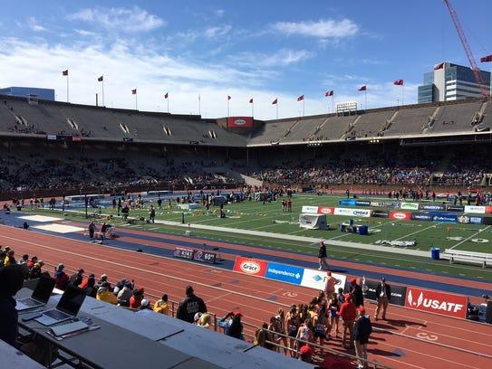 The 124th running of the Penn Relays began Thursday