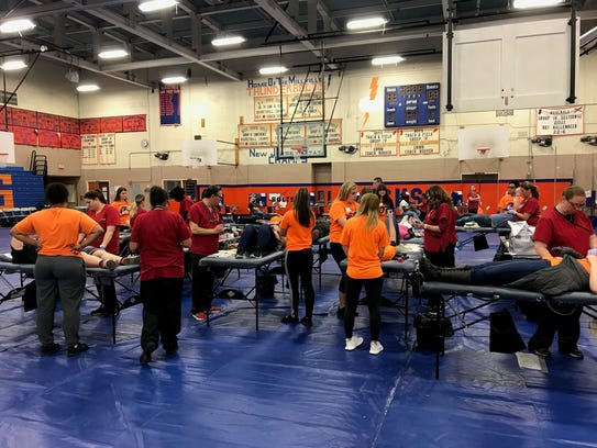 Millville High School recently did its part to ensure