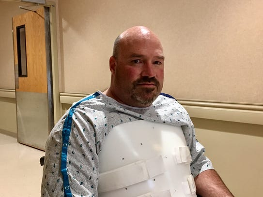 John Wells recovers at Morristown Medical Center after