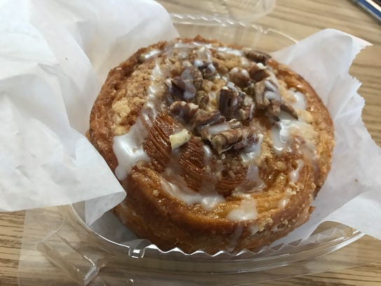 One of the delicious pastries at C'est Si Bon in Clifton