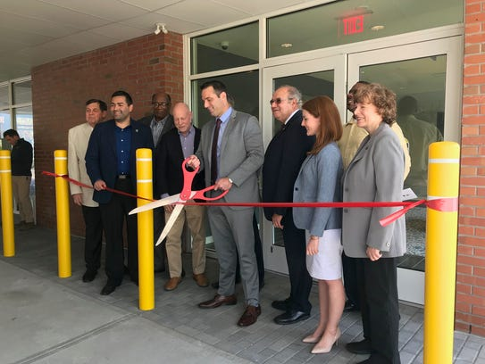 A ribbon cutting ceremony was held Tuesday at The Willows