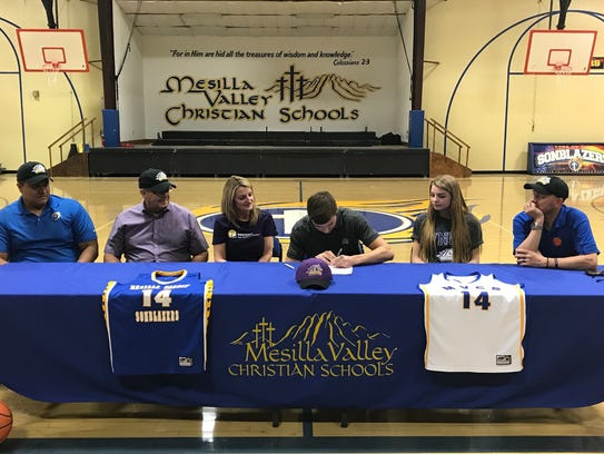 Mesilla Valley Christian's Hunter Conn signed to play