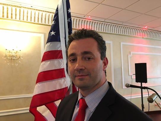 Morris County Freeholder John Cesaro