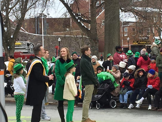 Clear skies brings thousands to Morristown for St. Pat's ...