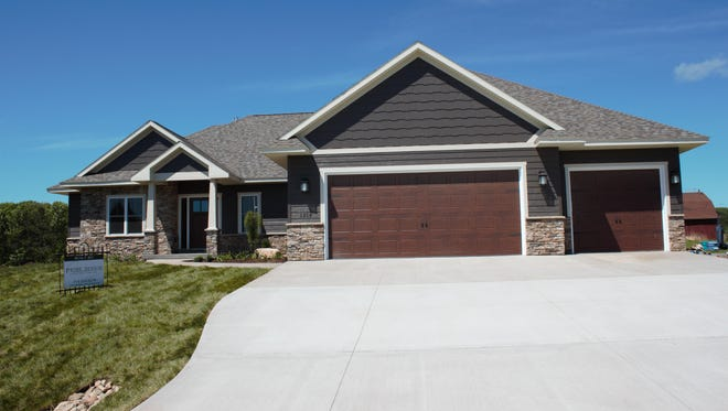 The house above, located at 1316 Bent Stick Drive, Wausau, was built by Prime Design Construction and is one of the homes on display this week at the annual Parade of Homes.